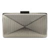 MICA Metallic Angular Pod- RRP $89.95 - Pewter - Olga Berg Handbags and Bags Online