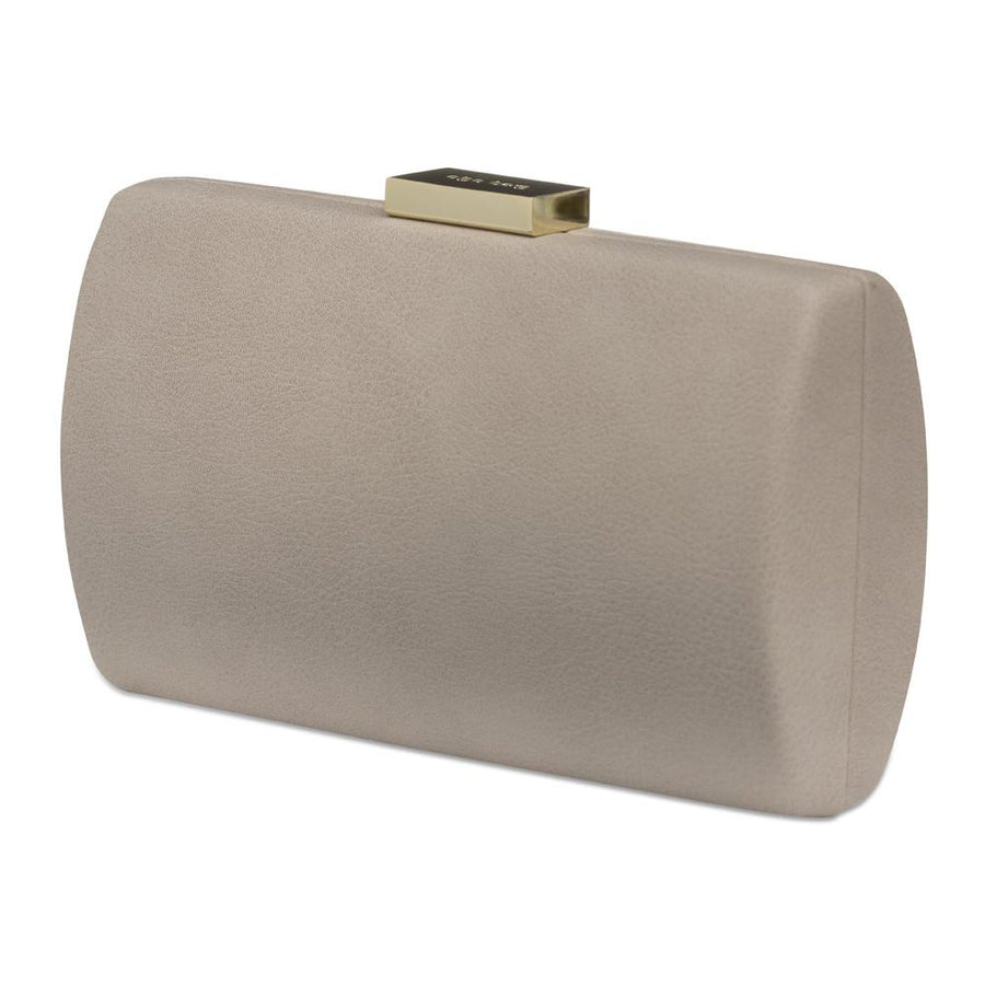FAITH Mottled Pu Pod- RRP $79.95 - Mushroom - Olga Berg Handbags and Bags Online