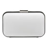 EMERSON Rounded Piped Pod- RRP $89.95 - White-Black - Olga Berg Handbags and Bags Online