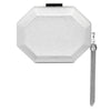 SIA Metallic Octagon Pod- RRP $99.95 - Silver - Olga Berg Handbags and Bags Online