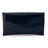 KARIN Etched Patent Fold Over- RRP $79.95 - Navy - back - Olga Berg Handbags and Bags Online