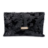 LADY Sequins Soft Clutch- RRP $89.95 - Black - Olga Berg Handbags and Bags Online