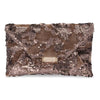 LADY Sequins Soft Clutch- RRP $89.95 - Mushroom - Olga Berg Handbags and Bags Online