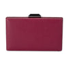 AKIO Frame Pod with trim- RRP $89.95 - Burgandy - Olga Berg Handbags and Bags Online