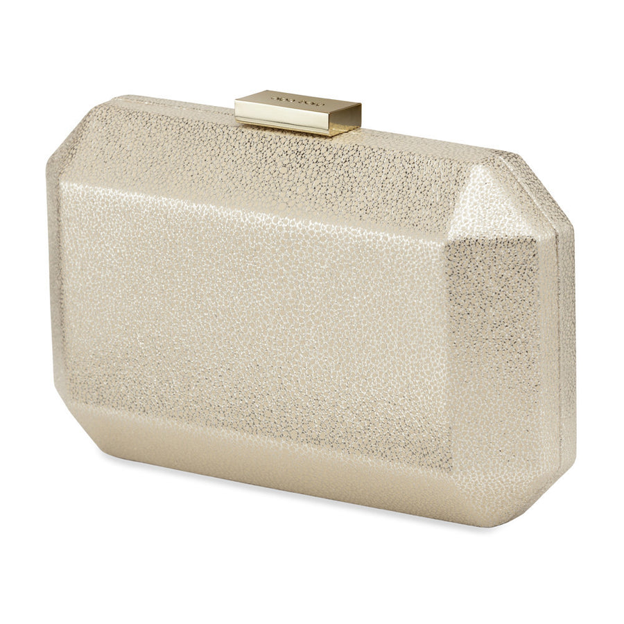 ASH Mottled Metallic Pod- RRP $99.95 - Gold - Olga Berg Handbags and Bags Online