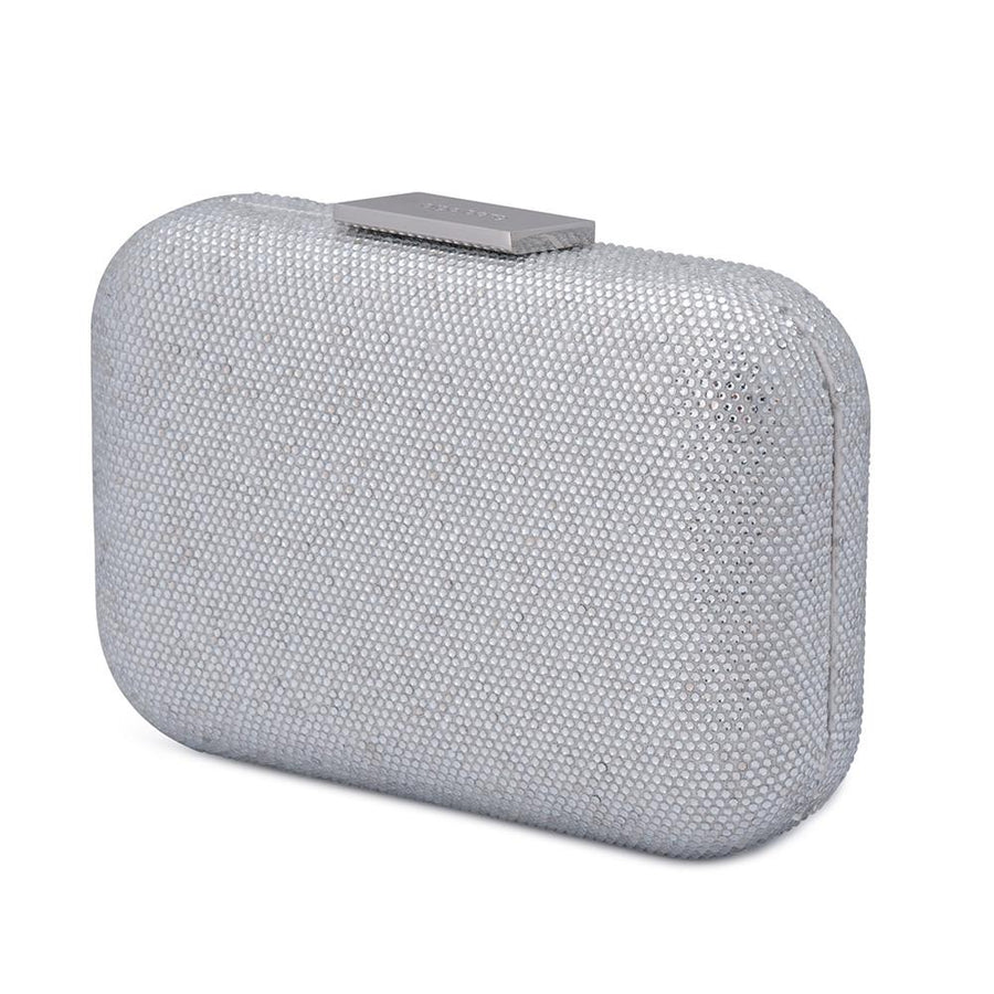 BRITT Crystal Pod- RRP $199 - Silver - Olga Berg Handbags and Bags Online