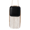 BAO Fine Chain Fringe Pod- RRP $169 - Black Gold - Olga Berg Handbags and Bags Online