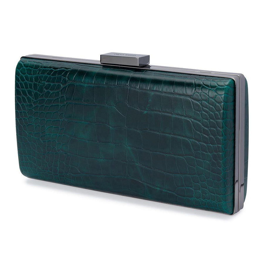 YOKO Croco Pod- RRP $99.95 - Emerald - Olga Berg Handbags and Bags Online
