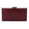 YOKO Croco Pod- RRP $99.95 - Ox Blood - Olga Berg Handbags and Bags Online