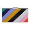 ALLISON Candy Stripe Pod- RRP $149 - Bright - Olga Berg Handbags and Bags Online