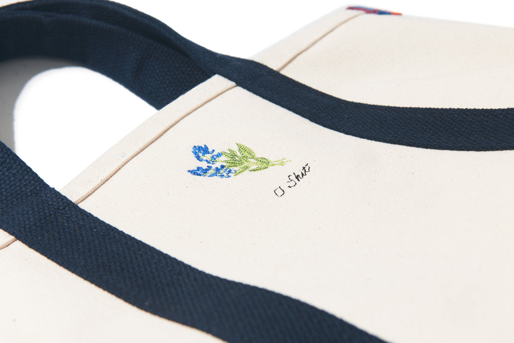 The Embroidered Tote - Canvas