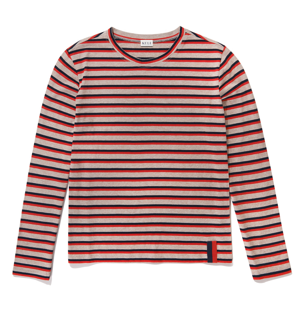 The Modern Long - Oatmeal/Navy/Poppy