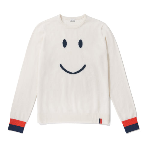 The Smile Sweater - Cream