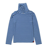 The Turtleneck - Blue/White