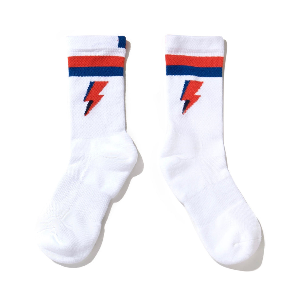 The BOLT Sock - White
