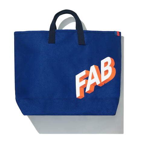 The FAB Tote - True Blue
