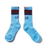 The LOVE Sock Lay Down