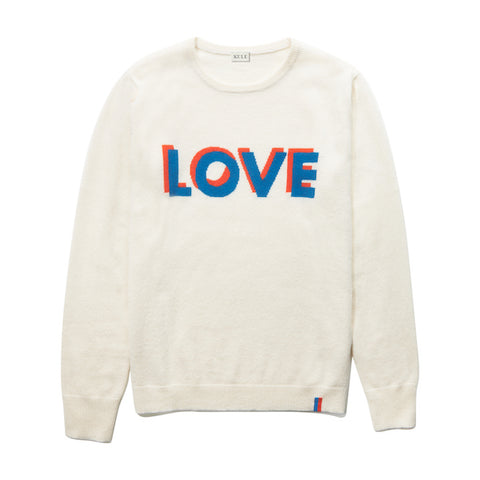 The Love Sweater - Cream