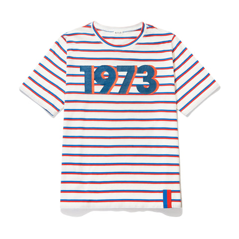 The Modern 1973 - White/Royal/Poppy
