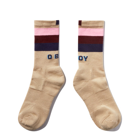 The O BOY Sock - Cream