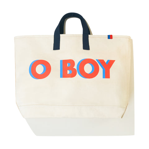 The O BOY Tote - Canvas