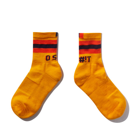 The O S#!T Sock - Gold