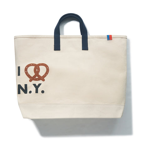 THE PRETZEL TOTE - Canvas