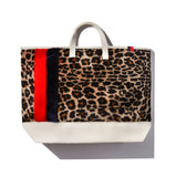 The Shearling Tote - Leopard