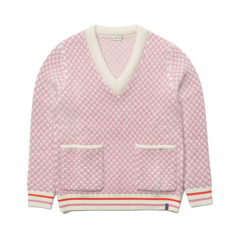 The Shelby Oversize Sweater - Blush