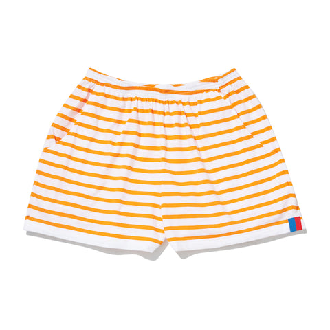 The Short - White/Orange