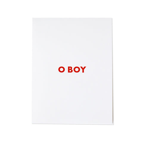 The O BOY Notepad