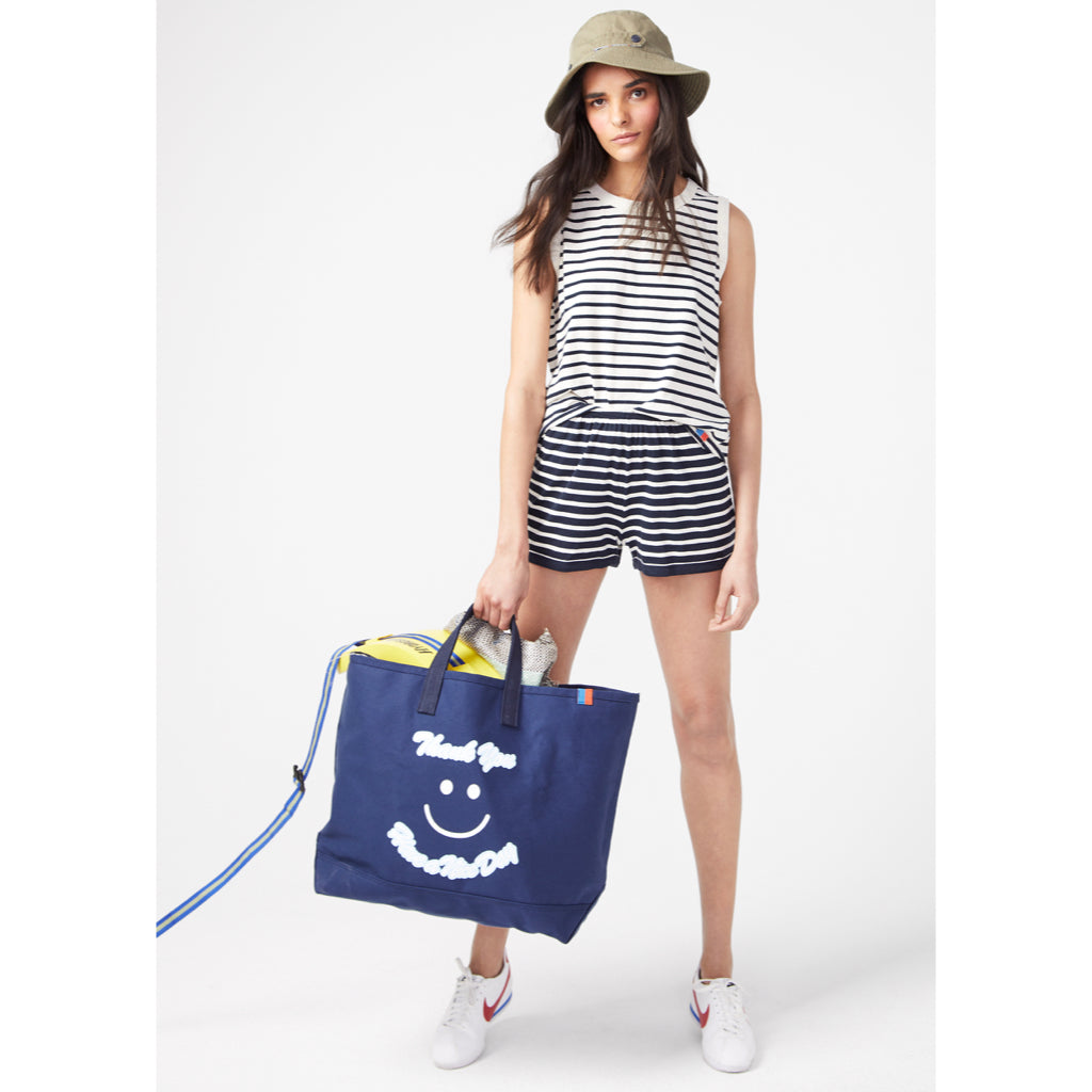 The Thank you Tote - Navy