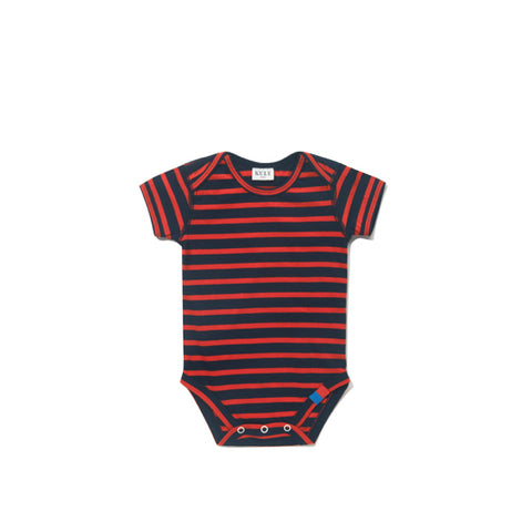 The Onesie - Navy/Red