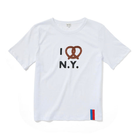 The Pretzel Tee - White