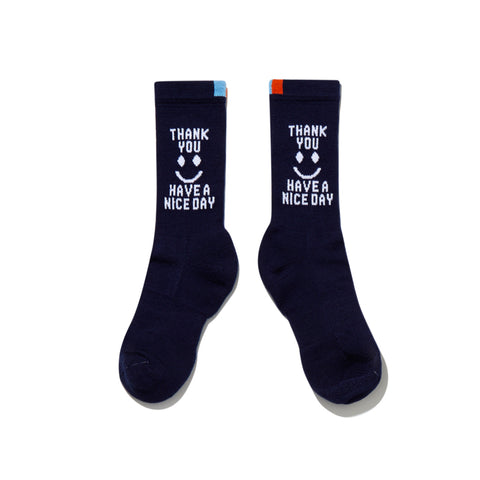 The Men's Thank You Sock - Navy