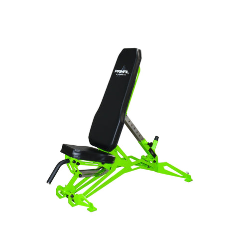 Primal Strength Spyder 2.0 Commercial Fitness Adjustable Flat to Incline Bench
