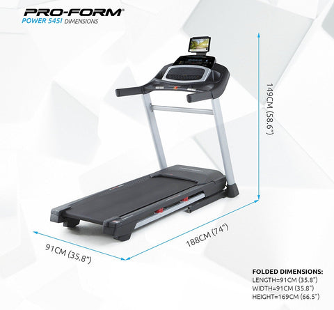 Pro Form Power 545i Treadmill - In Stock Now