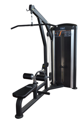 Lat pull low row dual machine