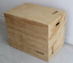 Wooden Plyo Box 3 in 1