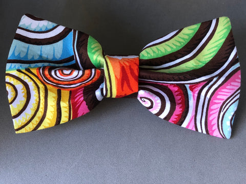 Dog Bow Tie - Swirl New Life Shell