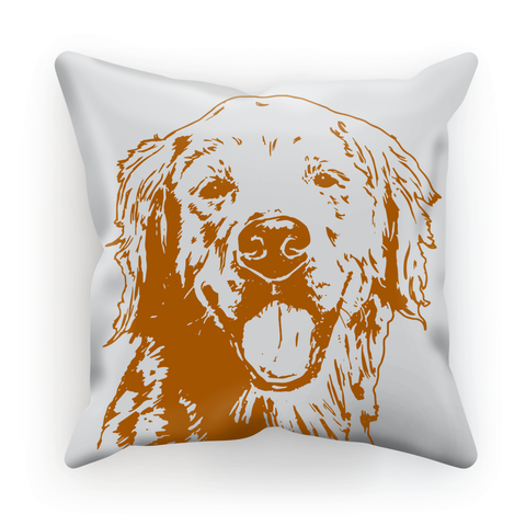 Golden Retriever Pillow - Brown