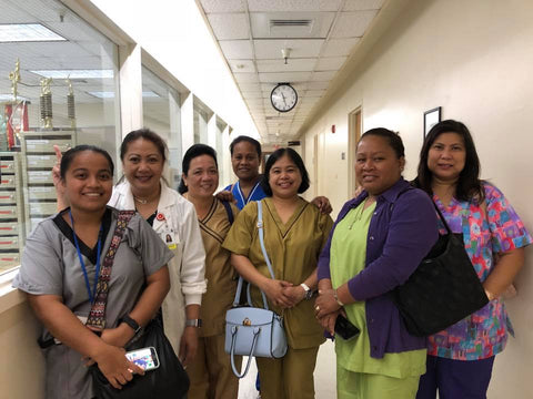 Six nurses from Pohnpei underwent training at the University of Guam and Guam Memorial Hospital from July 2–12 using the Charles H. Parent Scholarship through the UOG Endowment Foundation.