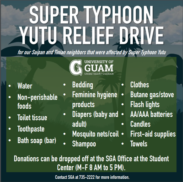 Relief Drive for Students in the CNMI