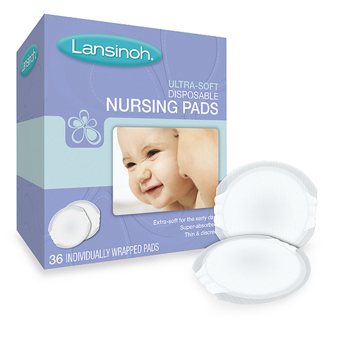 Lansinoh® Ultra Soft 36-Pack Nursing Pads