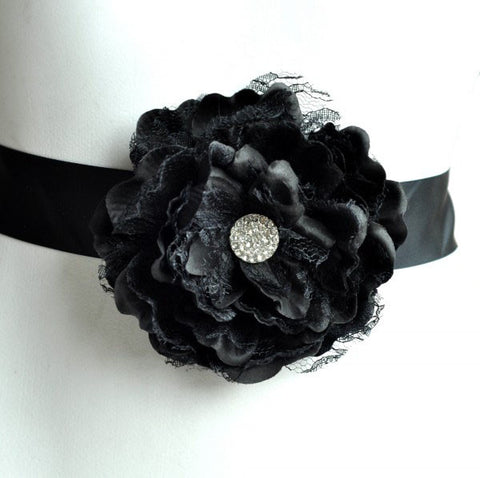 Maternity Sash Belt | Black