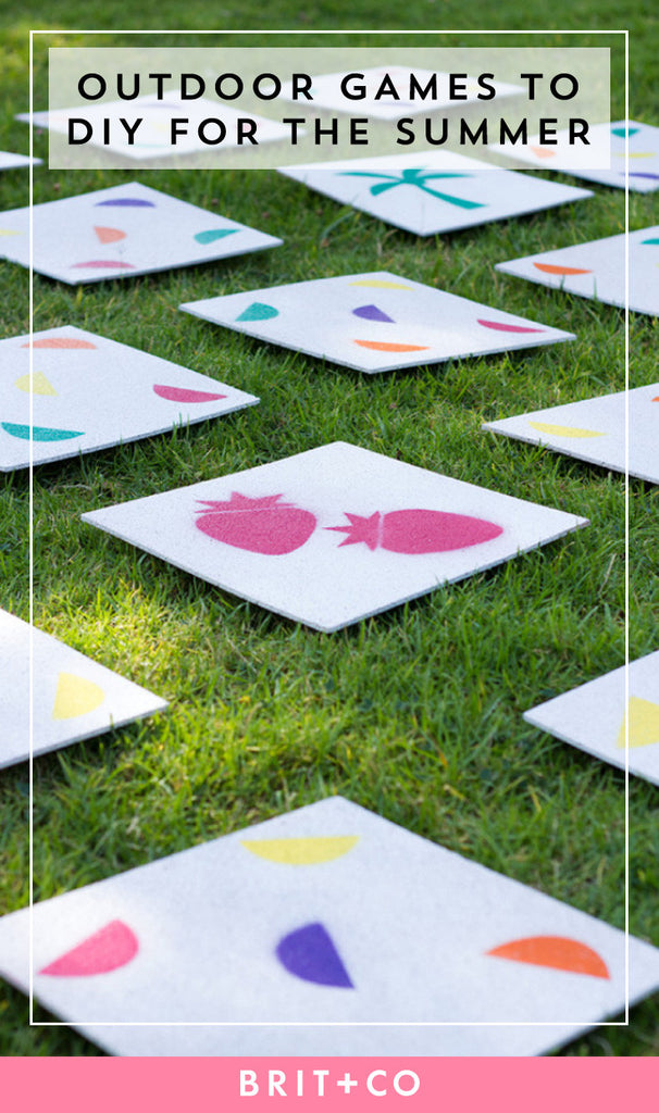 50 Best DIY Outdoor Summer Lawn Games