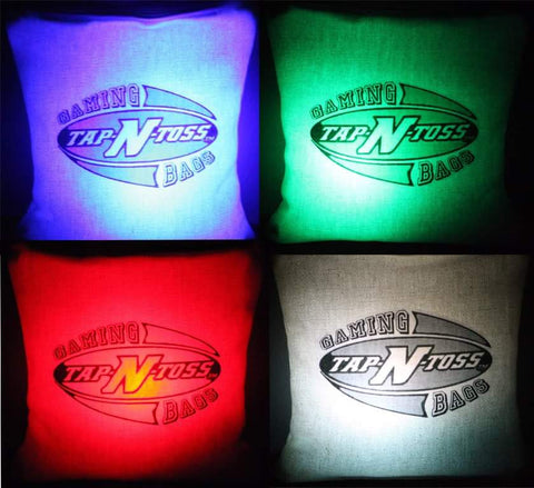 Tap and toss light up bag toss LED Bag lights Tap N Toss