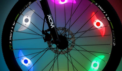 Flare Dot CycleLights Wheel Lights Pro Glow Sports Spoke LED