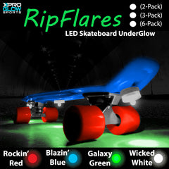 Pro Glow Rip Flares Support