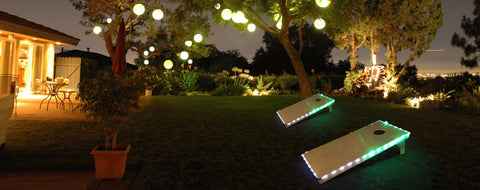 Pro Glow Sports Cornhole Edge Lights